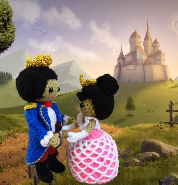 Amigurumi Prince and Princess Crochet Pattern