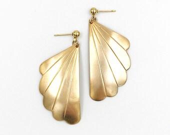 Deco Wing Dapped Earrings