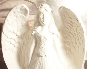 Americana Angel Ceramic Bisque Ready to Paint