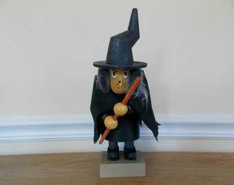 Halloween Witch, Witch, Wood Witch, Halloween Decoration, Old Hag, Doll, Halloween Home Decor, Home Decoration