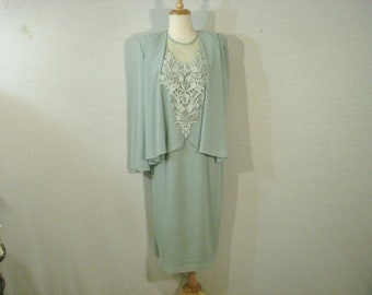 Mother of the Bride / Special Occassion Ursula of Switzerland Green Dress Size 12