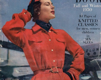 Doreen Baby Gems Vintage 1950 Knitting and Crochet Patterns | Etsy