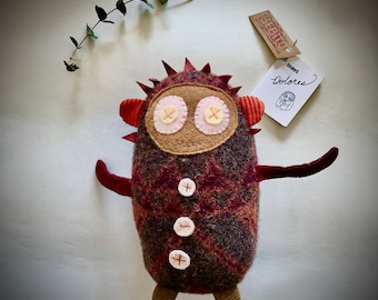 SALE! Dolores the Librarian Plush Doll, a Unique and Adorable soft toy