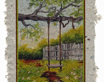 The old Tree Swing