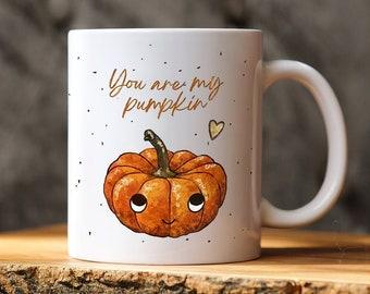 Fall Mug For Couple, You're My Pumpkin Mug, Pumpkin Mug, Funny Mug For Him,For Her, Cute Husband Mug Gift, Gift For Boyfriend,For Girlfriend