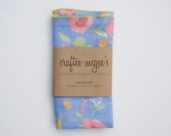 Nani IRO Double Gauze Swaddle Blanket- Japanese Double Gauze Muslin Baby Blanket- Choose Your Color- Nursing Cover- Nani IRO Fuccra Rakuen