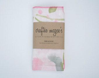 Nani IRO Double Gauze Swaddle Blanket- Japanese Double Gauze Muslin Baby Blanket- Choose Your Color- Nursing Cover- Nani IRO Freedom Garden