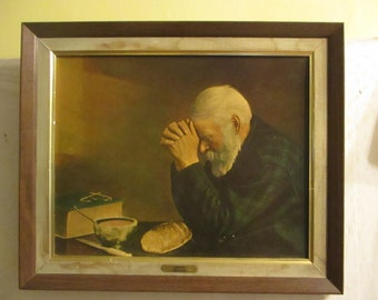 Praying Over Bread Etsy