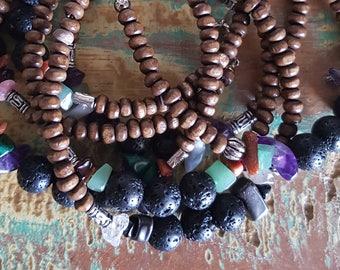 Lucky Dip - Oil Diffuser Gemstone Bracelet