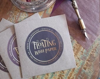 Floating Wish Paper