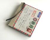 Handmade Vintage Airmail Sketchbook, Journal