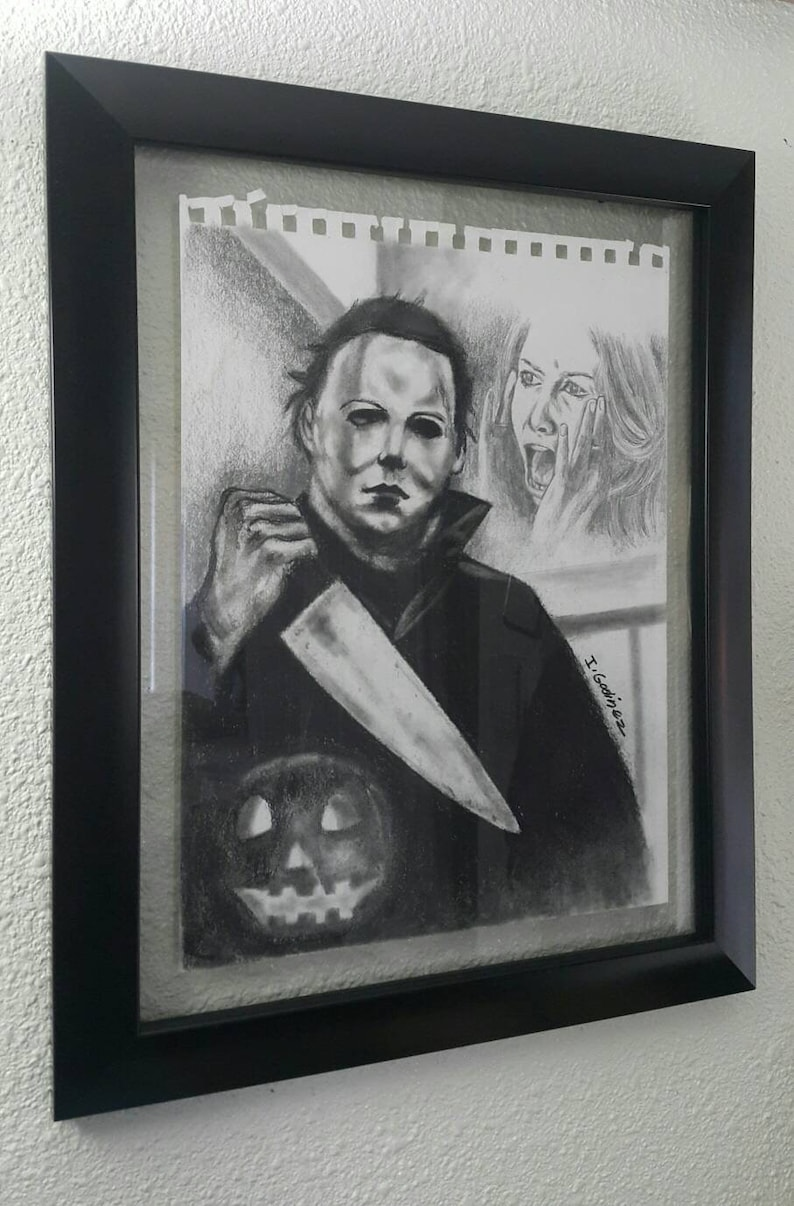 ddd4a03dee0b Michael myers Halloween movie horror art horror movies