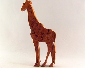 Giraffe Stand Up Puzzle
