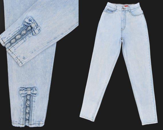 Vintage Bonjour Jeans 80s High Rise Jeans Mom Jean