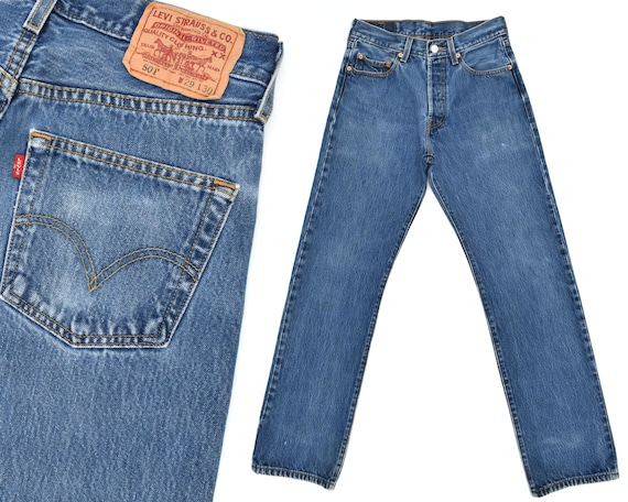 Vintage Levis Jeans Levis 501 Jeans 80s Levi 501s Jeans Faded  8b70f582c85
