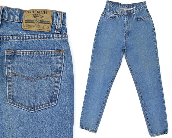 80s Vintage Jordache Jeans Womens High Rise Jeans