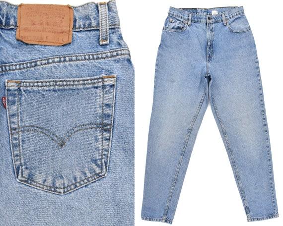 80s Vintage Levis Jeans Womens High Waisted Levi J