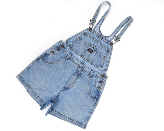 Vintage Denim Overalls Jordache Overall Shorts Sus