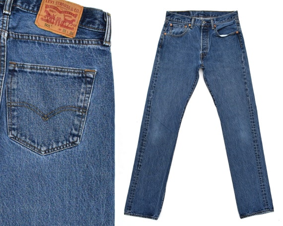 Vintage Levis Jeans Levis 501 Jeans 80s Levi 501 J