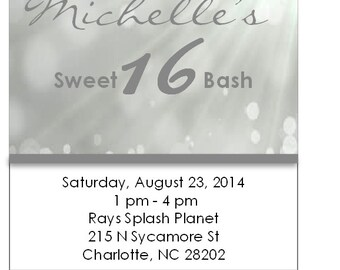 20 all white party invitations
