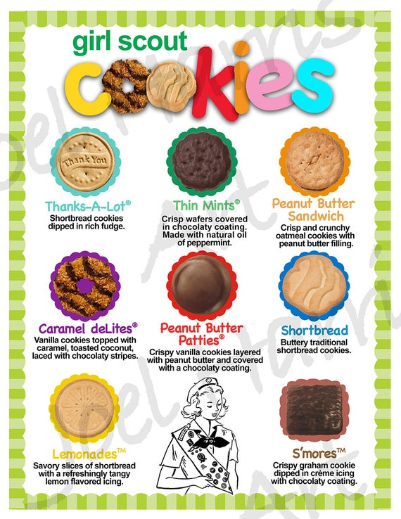 Girl Scout Cookies 2019