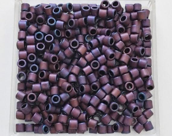 TOHO Matte Andromeda Treasure Beads, Cylinder 3.3mm Treasure Beads, Color A704 Matte Andromeda