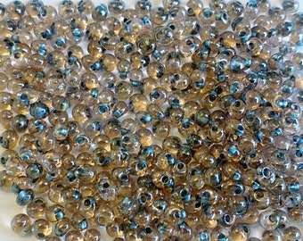 80  #288 Inside-Color CRYSTAL  Metallic BLUE Lined silver red,TR-08-288 special gray blue crystal Toho Seed Bead
