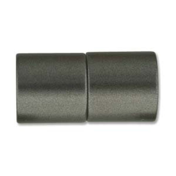 Granite 10mm Magnetic End Cap Clasp, Matte Granite, Acrylic Magnetic Clasp