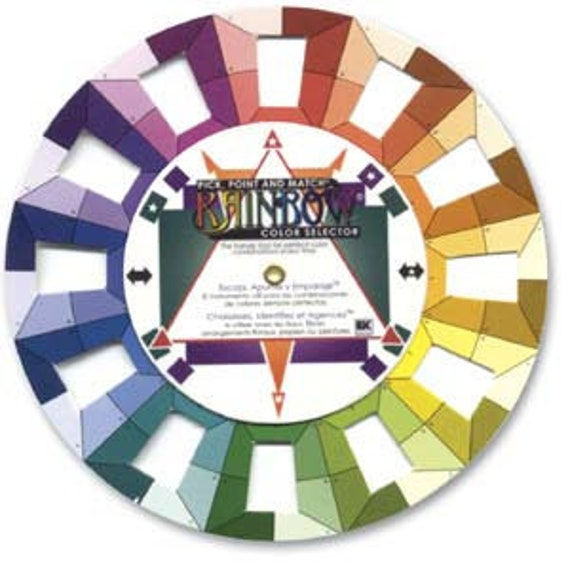 Color Wheel, Pick, Point and Match Rainbow Color Selector