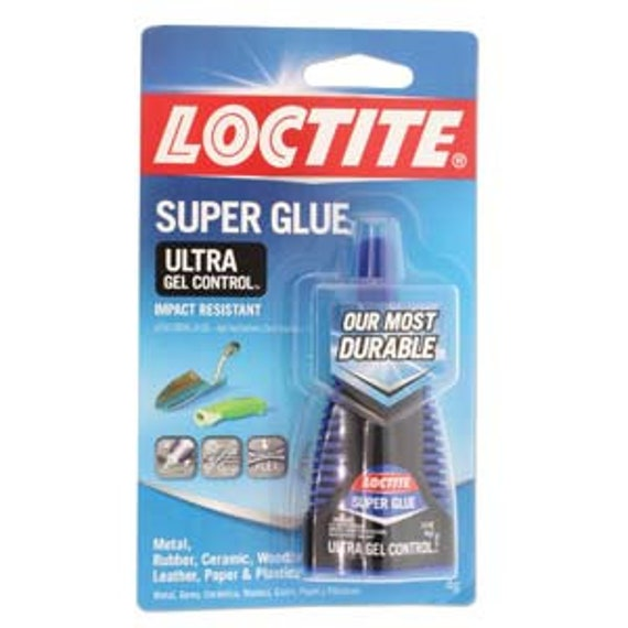 Super Glue Gel, Loctite, Ultra Gel Control, Used For Curing Braiding Wire