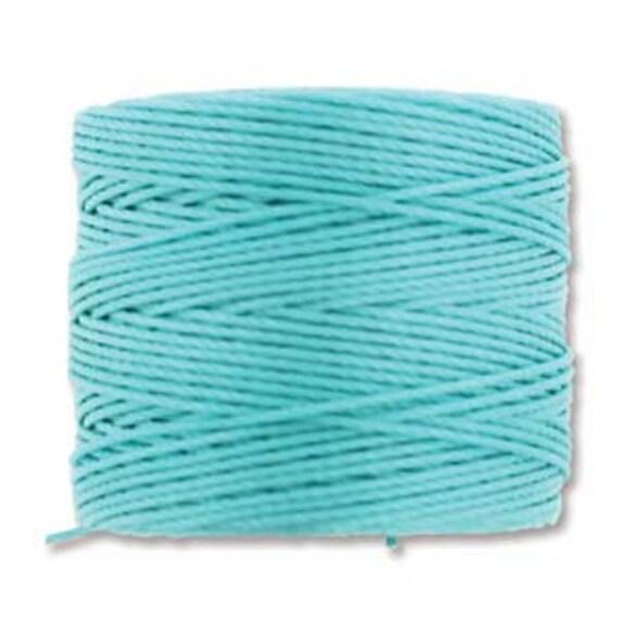 Aqua Tex 210 S Lon Beading Cord, 77 yard spool C Lon Beading Cord, Nylon Beading Cord