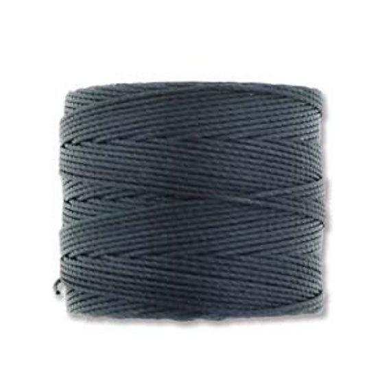 Indigo Tex 210 S Lon Beading Cord, 77 yard spool C Lon Beading Cord, Nylon Beading Cord