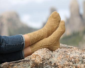 Granite Spires Sock Pattern