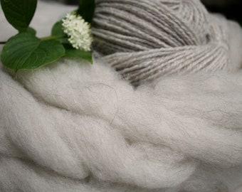 Pin Drafted Roving - CVM Wool Alpaca Kid Mohair