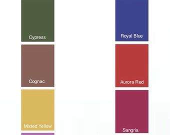 Fall Headband - Skinny Headband - Pantone 2014 Fall Colors