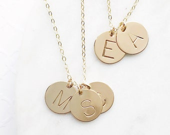 """Sandy"" Monogrammed Necklace"