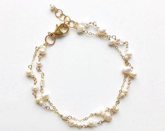 """""""Paper White"""" Bracelet"""