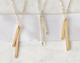 "Sticks & Stones ""Birch"" Necklace"