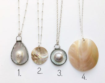 Sale, Shell & Pearl Necklaces