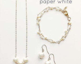 """Paper, Simply, & Pure White Set"""