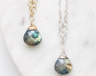 8ff15b4815923f Fine Jewelry, Gemstone Necklace, Gemstone Jewelry, 14K Gold Necklace, Sarah  Cornwell Jewelry, Tiny Gem Necklace, Gemstone Jewelry, Gemstones