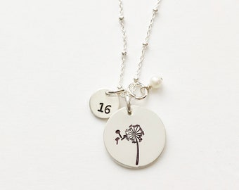 Dandelion & Age Necklace
