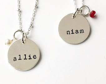 """Maddy"" Name Necklace"
