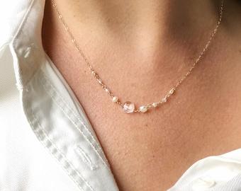 Dove White Necklace