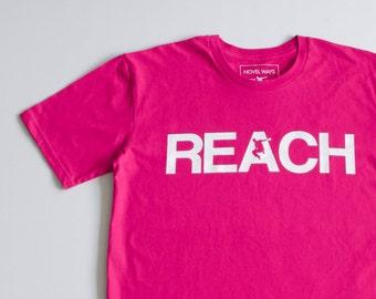 The REACH / ESCAPE  Parkour T-Shirt - Hot Pink