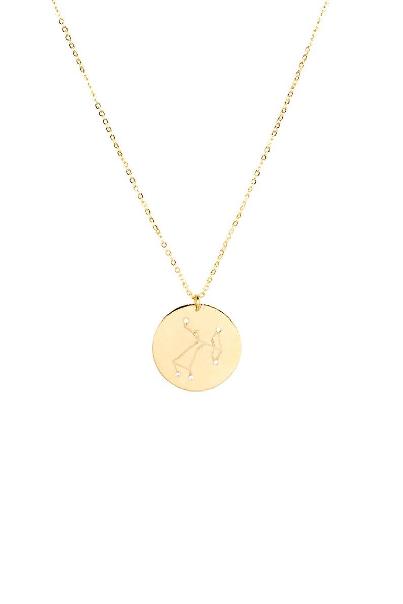 Sagittarius Constellation Necklace | Personalized Gift For Sagittarius |  Sagittarius Star Sign Necklace | Gold Sagittarius Necklace