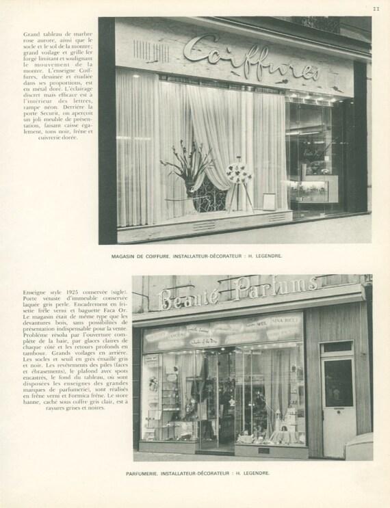 Magasins Francais 11 Salon De Coiffure Perfumerie Legendre