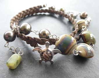 Turtle Wrap Bracelet