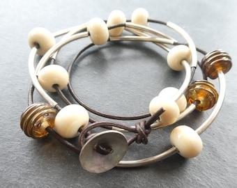 Sandy Wrap Bracelet