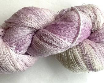 PHX--Grape Ice 52/2 merino/cashmere/silk